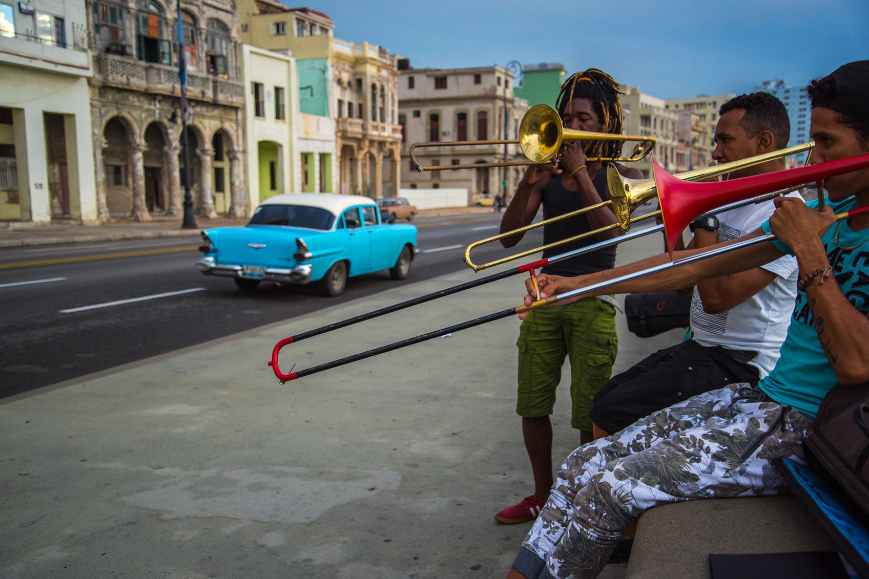 No open-air museum is as exciting as the Malecón promenade. During the day, the fishermen are replaced by musicians and prostitutes at night./
