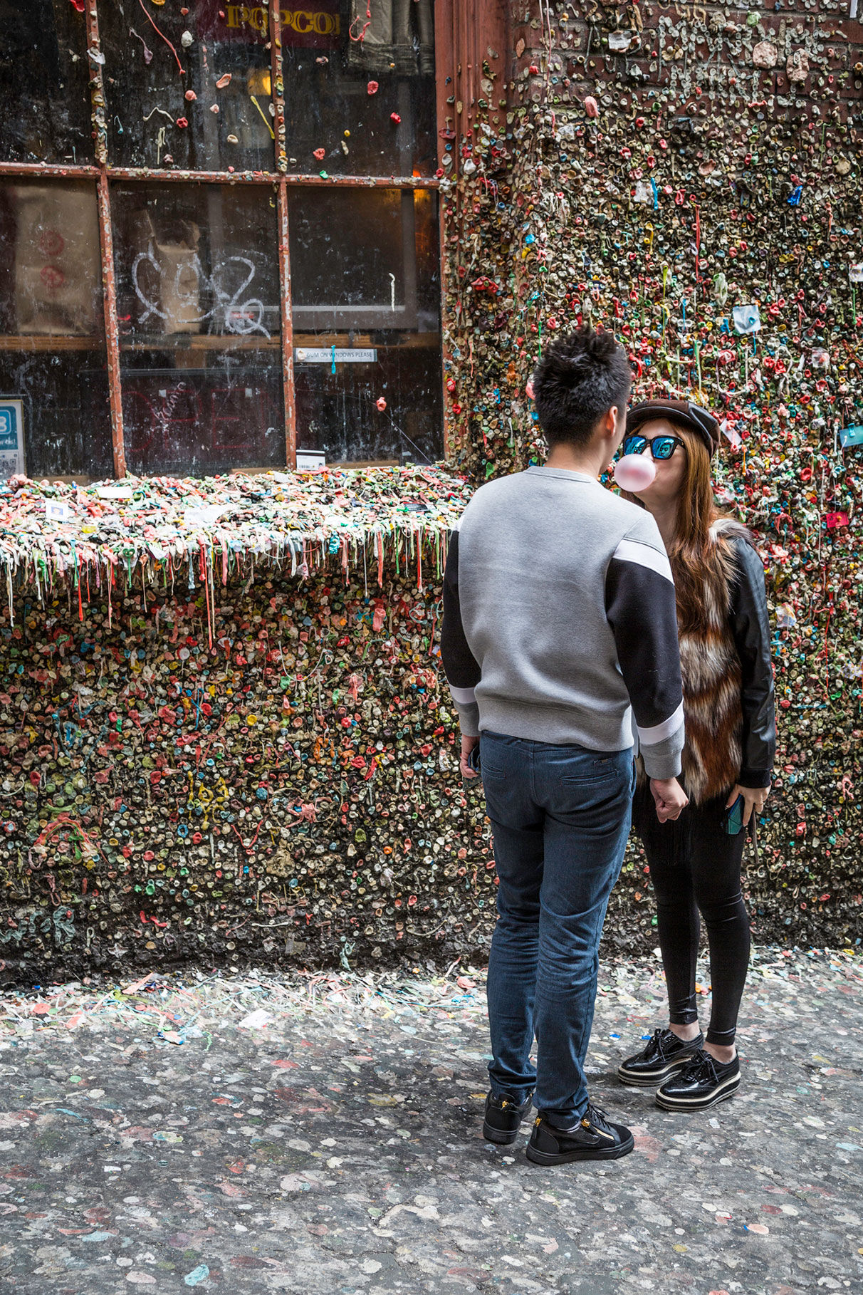 Gum Wall: tak chutná Amerika/