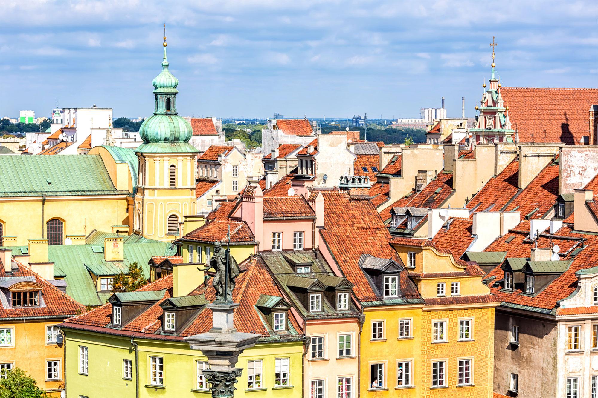 Varšava. querbeet | istockphoto.com/