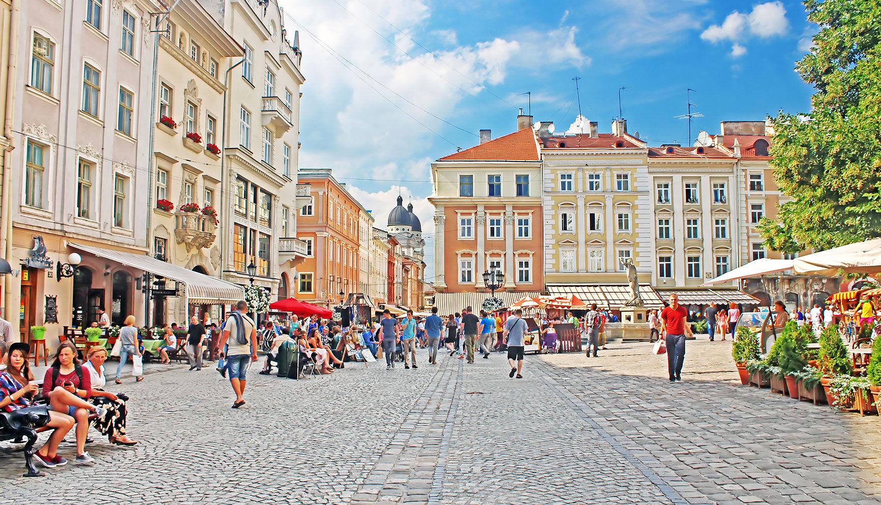 Lvov. Gelia | istockphoto.com/