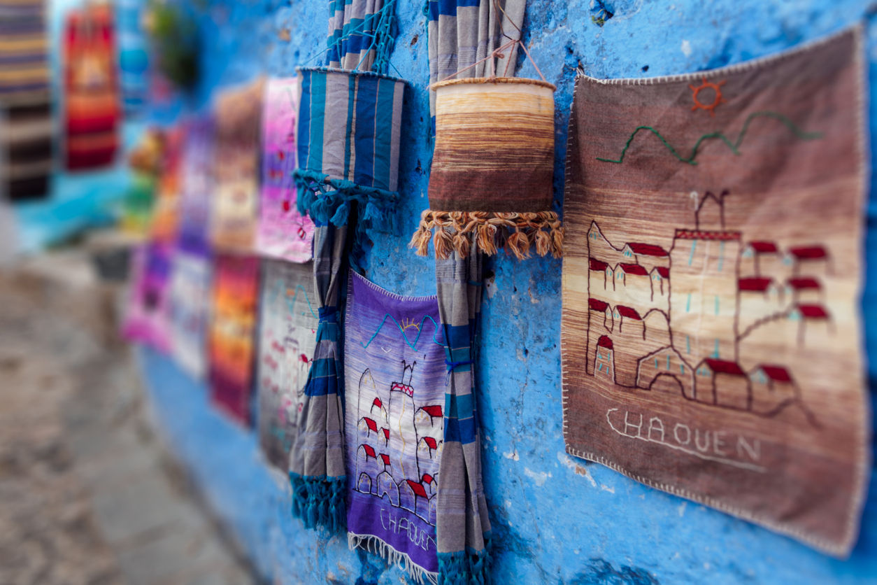 Chefchaouen – a city of blue streets and hashish/