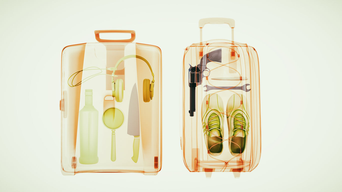 What does not belong in hand luggage/