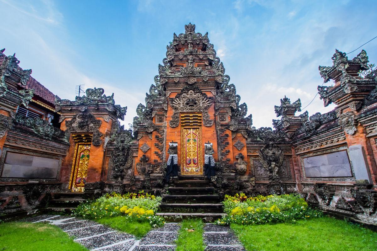 Královský palác Ubud a Puri Saren Ubud