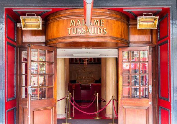Vstup do muzea Madame Tussaud