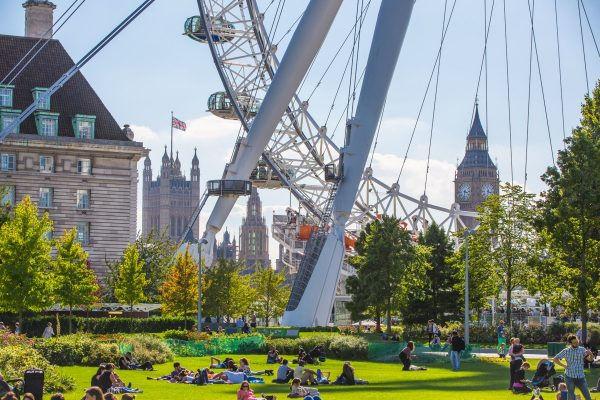 Londýnské Oko, gigantické ruské kolo