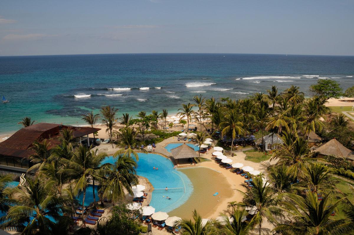 Hotel na ostrově Bali