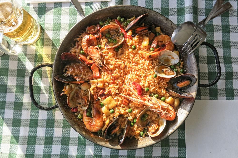 Španělsko, poznejte jejich jídlo - Paella/