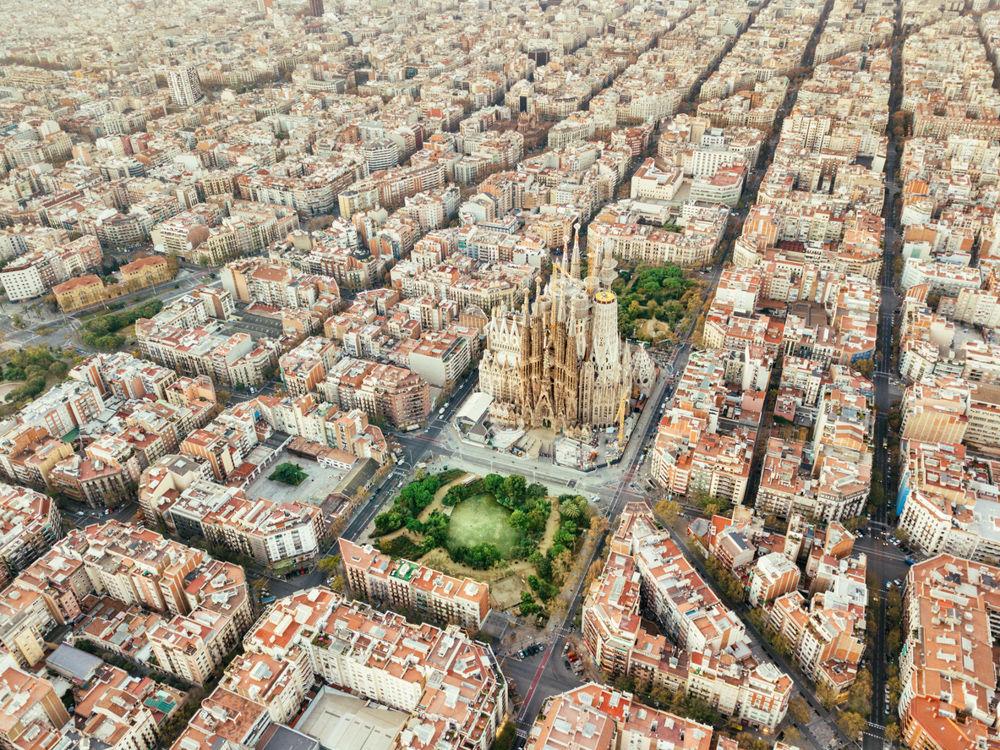 Španělsko, Architektura - Sagrada Familia/